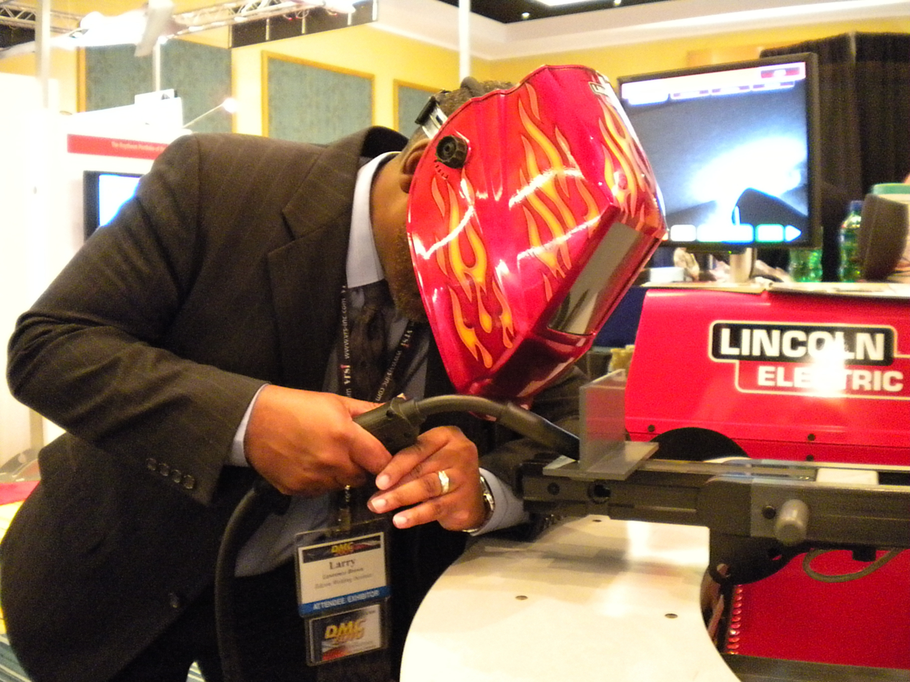 Imts Preview Lincoln Electric For Welding Simulator