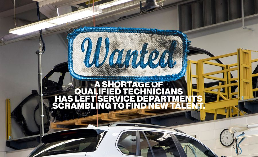 Wanted A Shortage Of Qualified Automotive Technicians Has Left
